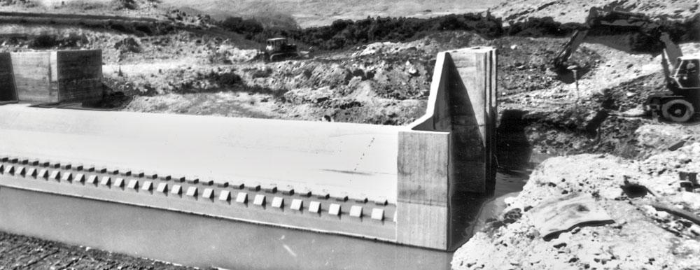 Dam and Irrigation Network of Berimevand