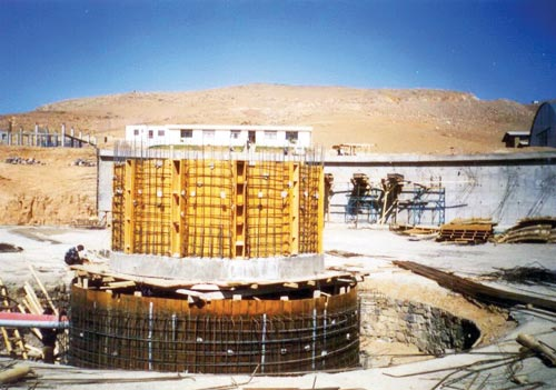 Zarrineh Rood to Tabriz Water supply Treatment Plant