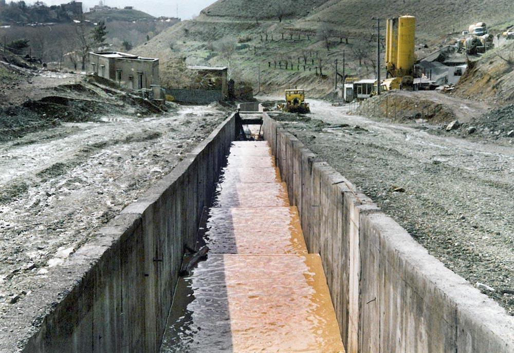 Khoshkeh Floodway Canal