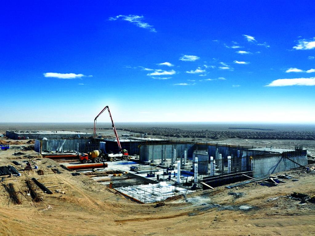 Pardisan-Qom Reinforced Concrete Water Reservoir